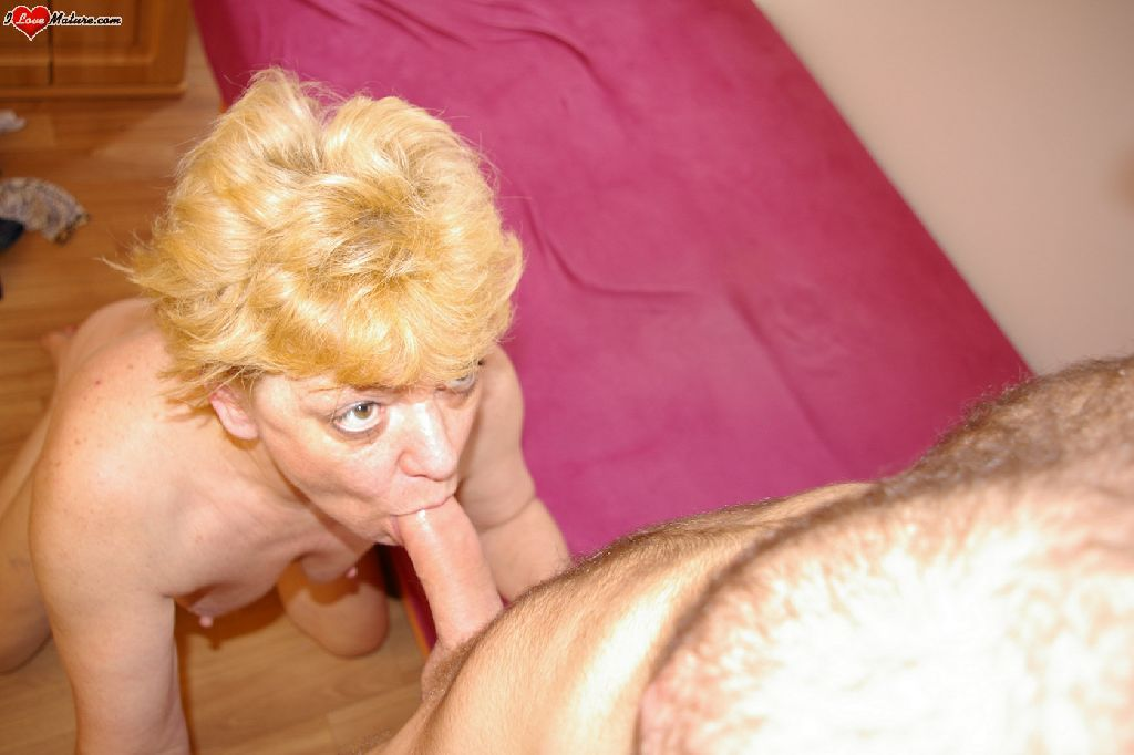 image Blonde milf cocksucker real moviek up he