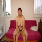 Horny mature slut riding a hard cock