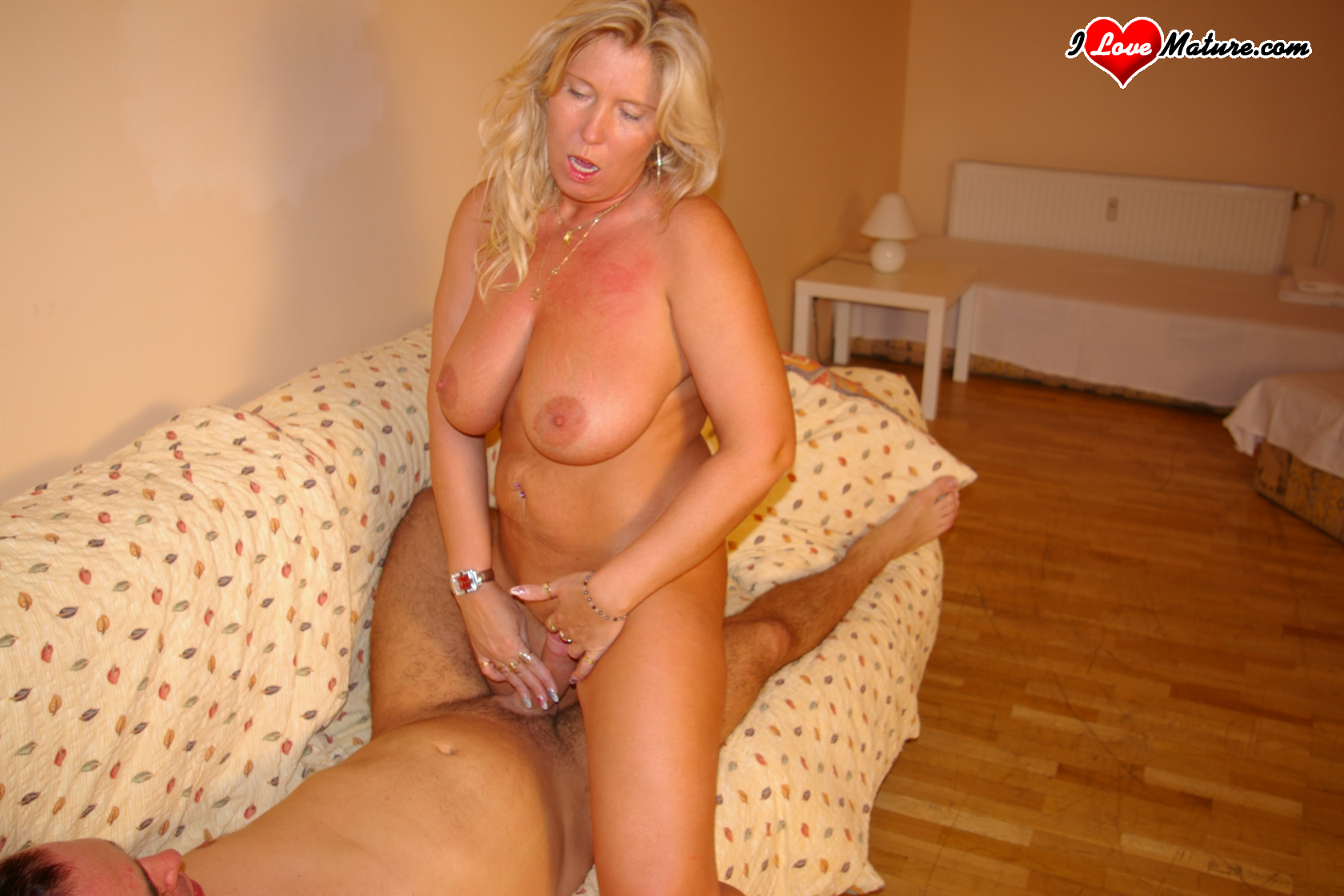 image Granny loves getting fucked by young neighbor