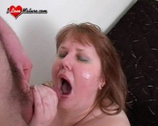 fat chick really loves the cock