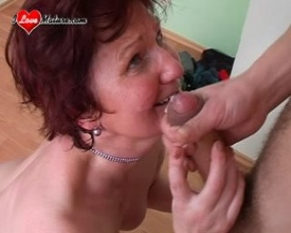cum eating mature slut