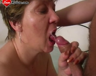 riding and sucking the cock