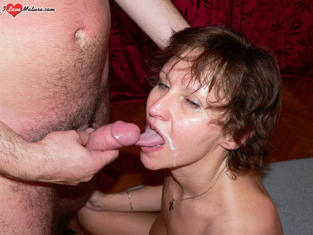Mature Woman Loves To Swallow Cum
