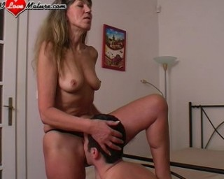 she won't let him go untill he cums