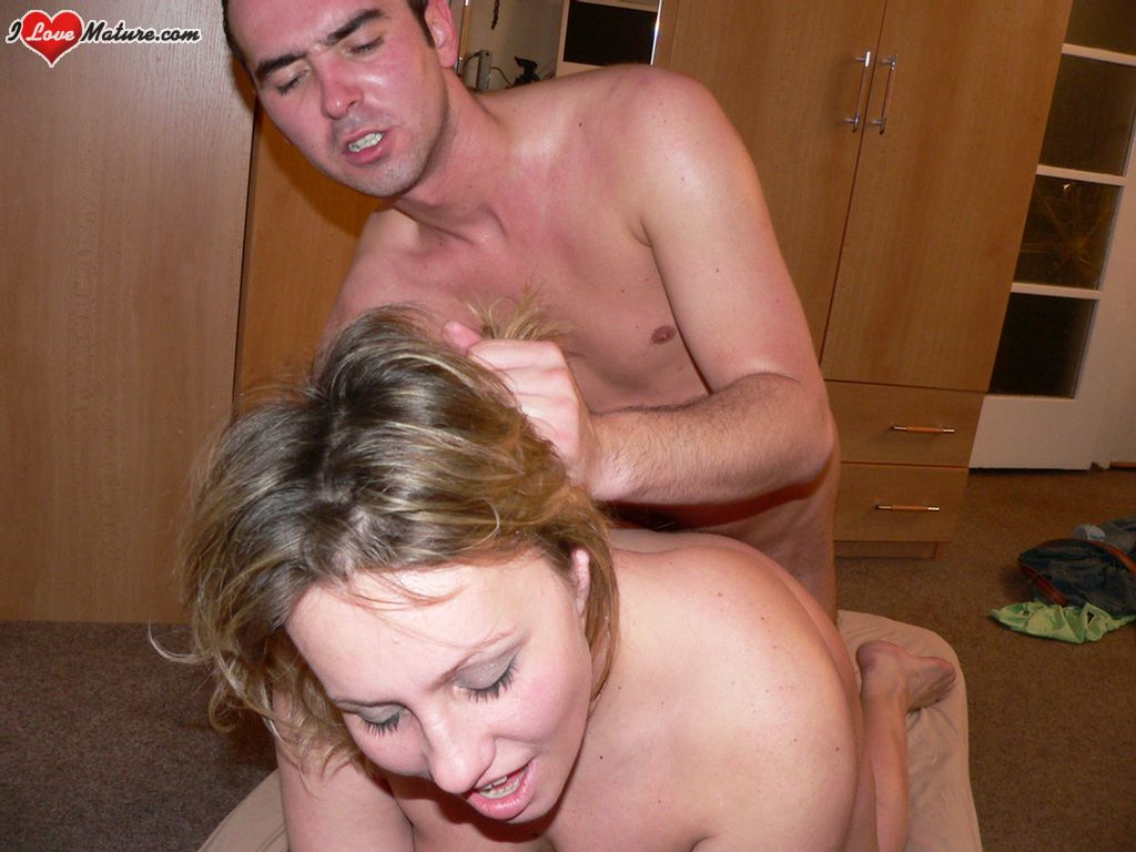 Mature fucked from behind