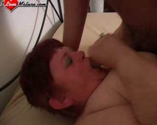 Chubby mature gets the fuck of a lifetime