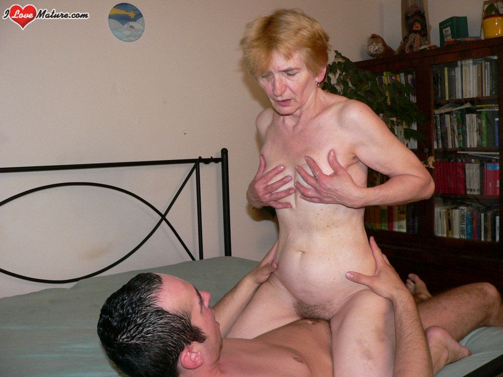 image Granny gabi gets fucked and gets a facial
