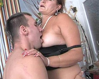 She just loves a hard throbbing cock up her holes