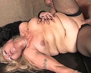 She is one hot horny mature chubby slut