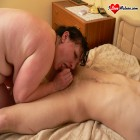 Big titted granny gets cock