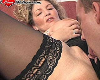 Chubby mature honey fucking like a maniac