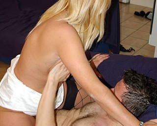 Kinky housewife loving riding that cock