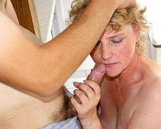 This housewife just loves the cock