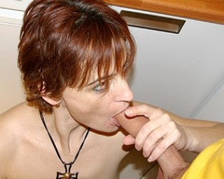 When this housewife gets hot she needs cock