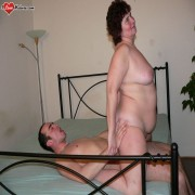 Horny mature slut getting fucked hard