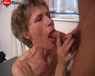 skinny mature slut fucking her way around