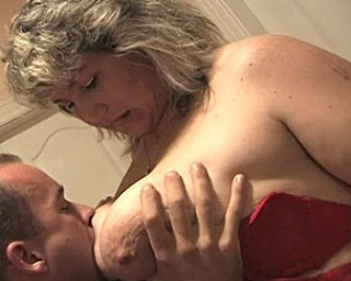 Big titted mature cunt fuking her ass off