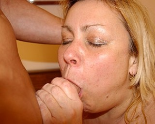 This big mature slut loves getting fucked hard